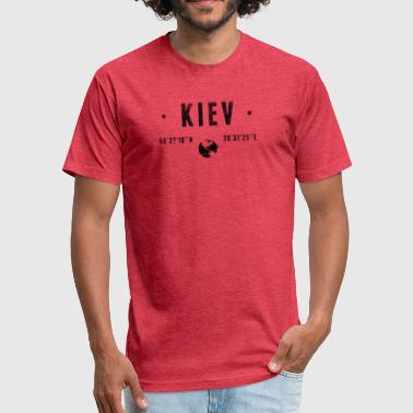 Kiev Kiev - Fitted Cotton/Poly T-Shirt by Next Level