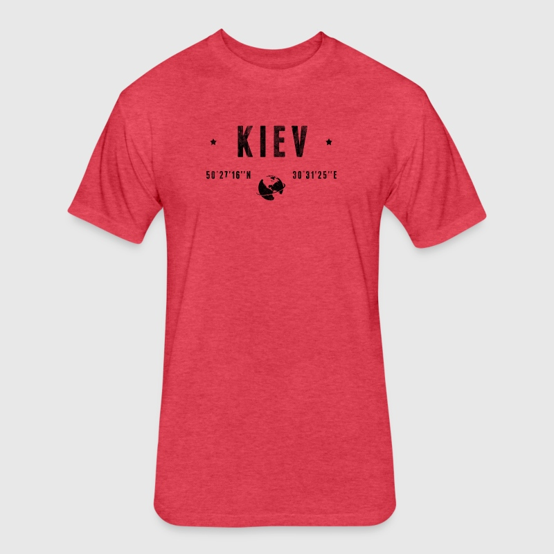 Kiev - Fitted Cotton/Poly T-Shirt by Next Level