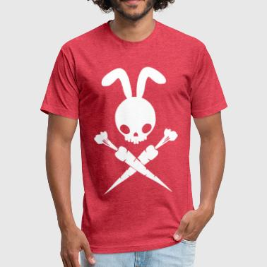 Bad Rabbit Bad Rabbit And Cross Carrots - Fitted Cotton/Poly T-Shirt by Next Level