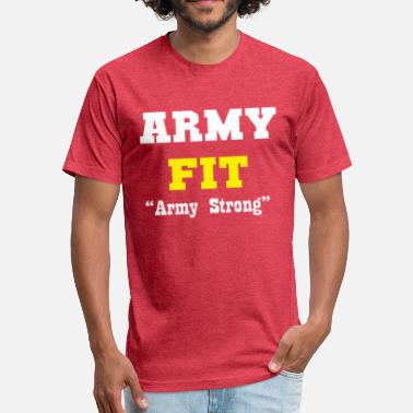 Fit Religion Army fit - Fitted Cotton/Poly T-Shirt by Next Level