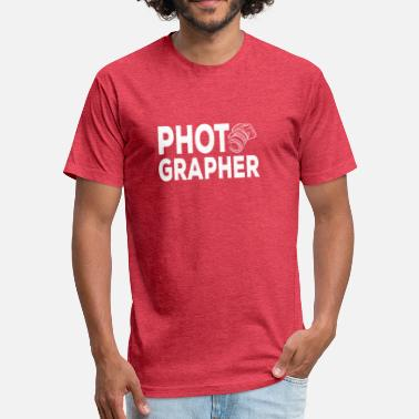 Wedding Photographer Photographer Tshirt - Wedding Photographer - Fitted Cotton/Poly T-Shirt by Next Level