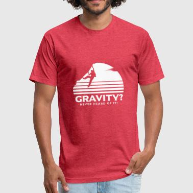 Gravity - Fitted Cotton/Poly T-Shirt by Next Level