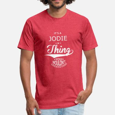 Jody Jodie - Fitted Cotton/Poly T-Shirt by Next Level