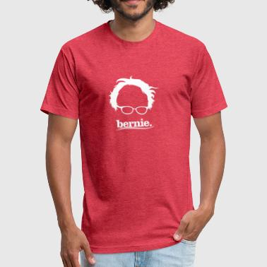 Fan Club Bernies Sanders fans club - Fitted Cotton/Poly T-Shirt by Next Level