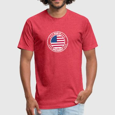 Montgomery MONTGOMERY - Fitted Cotton/Poly T-Shirt by Next Level
