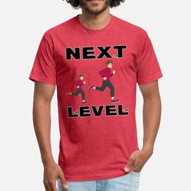 Next next level man and women gift t shirt - Fitted Cotton/Poly T-Shirt by Next Level