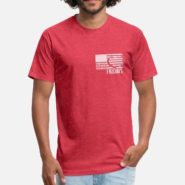 Red Friday RED Fridays LC - Fitted Cotton/Poly T-Shirt by Next Level
