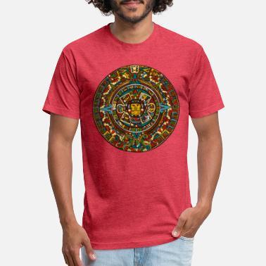 170056215 Mayan mayan calendar - Unisex Poly Cotton T-Shirt