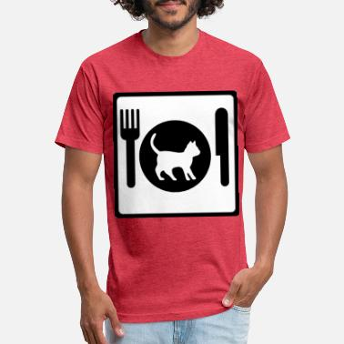Dine Fine Dining - Unisex Poly Cotton T-Shirt