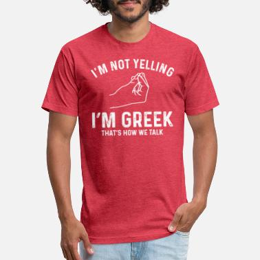Greek Funny Greek Gift - Unisex Poly Cotton T-Shirt