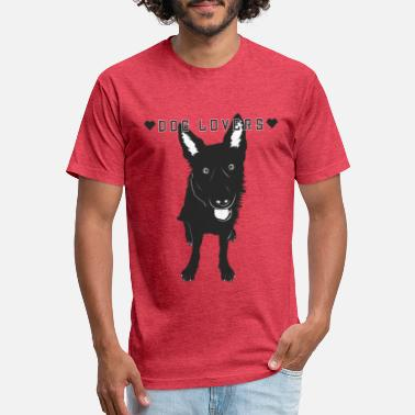 Lover dog lovers - Unisex Poly Cotton T-Shirt