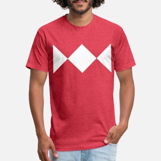 Mighty Morphin Power Rangers WHITE RANGER 1-Sided Big Print Poly T-Shirt