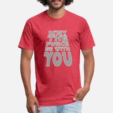 May The Force May The Force Be With You - Unisex Poly Cotton T-Shirt