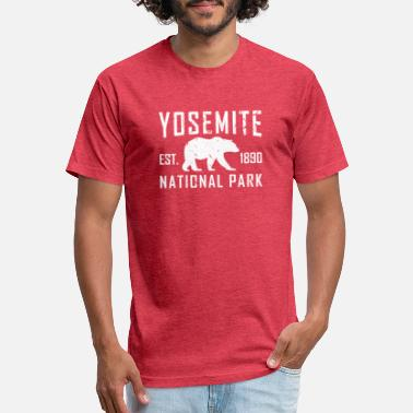 National Yosemite National Park - Unisex Poly Cotton T-Shirt
