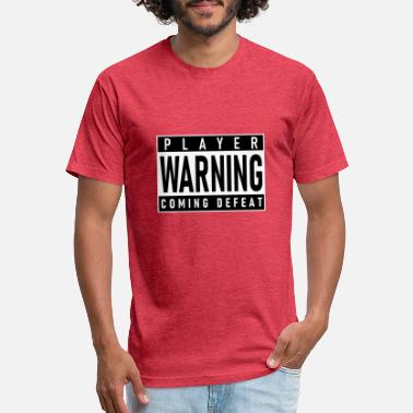PLAYER WARNING - Unisex Poly Cotton T-Shirt