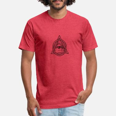 Goggley Eyes All Seeing Eye - Unisex Poly Cotton T-Shirt
