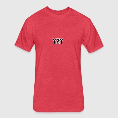 YZY - Fitted Cotton/Poly T-Shirt by Next Level