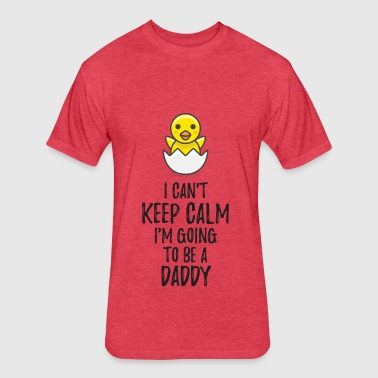 I'm Going to be a Daddy - Fitted Cotton/Poly T-Shirt by Next Level