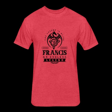 FRANCIS - Fitted Cotton/Poly T-Shirt by Next Level