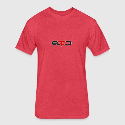 RED CLAN - Fitted Cotton/Poly T-Shirt by Next Level