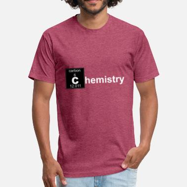 Chemistry Geek Chemistry - Fitted Cotton/Poly T-Shirt by Next Level