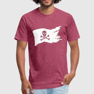jolly Roger - Fitted Cotton/Poly T-Shirt by Next Level