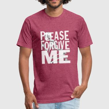 Canadian Band please forgive me bryan - Fitted Cotton/Poly T-Shirt by Next Level