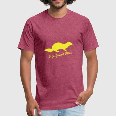Significant Otter - Fitted Cotton/Poly T-Shirt by Next Level