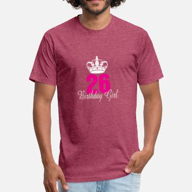 26 Years Old Birthday Birthday Girl 26 Years Old - Unisex Poly Cotton T-Shirt