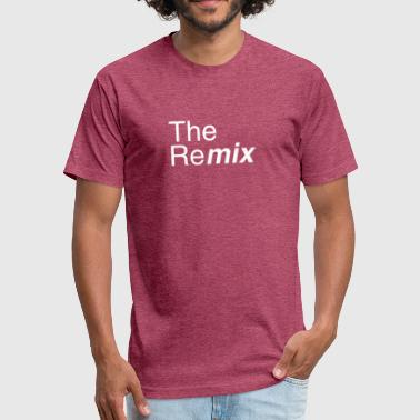 The Remix - Fitted Cotton/Poly T-Shirt by Next Level
