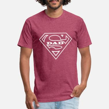 Super Dad Super Dad - Unisex Poly Cotton T-Shirt
