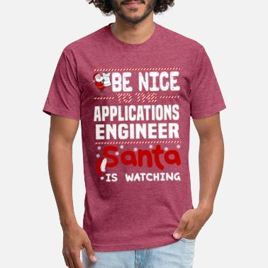 Application Applications Engineer - Unisex Poly Cotton T-Shirt