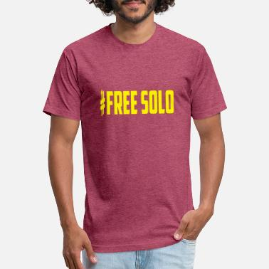 Solo free solo - Unisex Poly Cotton T-Shirt