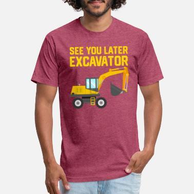 4cf5988a3df Construction Kids Kid Toddler Excavator Construction Shirt - Unisex Poly  Cotton T-Shirt