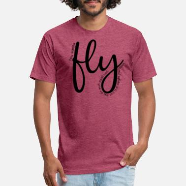 fly 01 - Unisex Poly Cotton T-Shirt