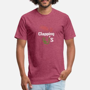 Cheek Clapping Cheeks - Unisex Poly Cotton T-Shirt