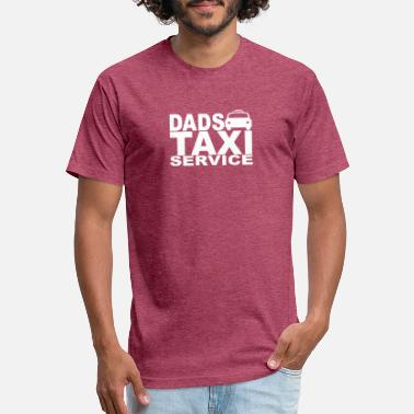 Taxi Girl DAD TAXI - Unisex Poly Cotton T-Shirt