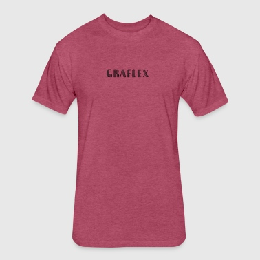 GRAFLEX - Fitted Cotton/Poly T-Shirt by Next Level