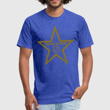 Ringo  team starr gold katsmeow11 - Fitted Cotton/Poly T-Shirt by Next Level