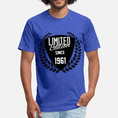 1961 Limited Edition Limited Edition Since 1961 - Fitted Cotton/Poly T-Shirt by Next Level
