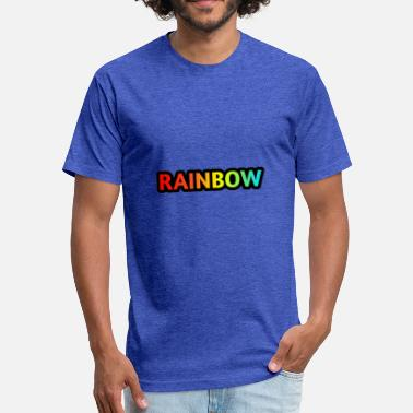 Rainbow Baby RAINBOW - Fitted Cotton/Poly T-Shirt by Next Level