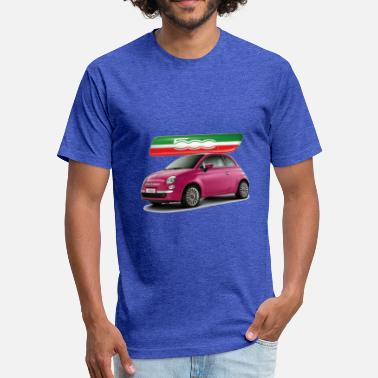 Fiat 500 fiat 500 - Fitted Cotton/Poly T-Shirt by Next Level