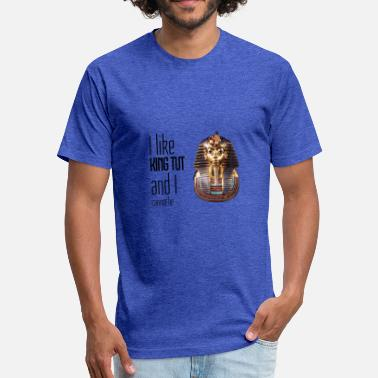 Sir Mix-a-lot I Like King Tut - Fitted Cotton/Poly T-Shirt by Next Level