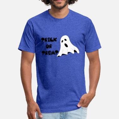 Gost TRICK OR TREAT GOST - Fitted Cotton/Poly T-Shirt by Next Level