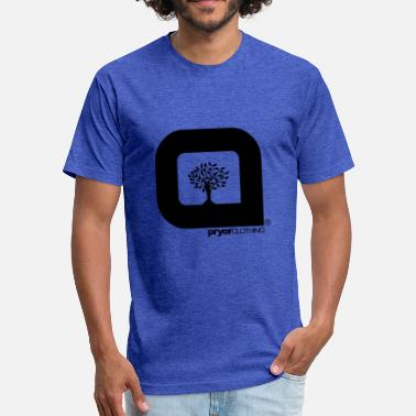 Pryor The Pryor Clothing FamTree Logo - Fitted Cotton/Poly T-Shirt by Next Level