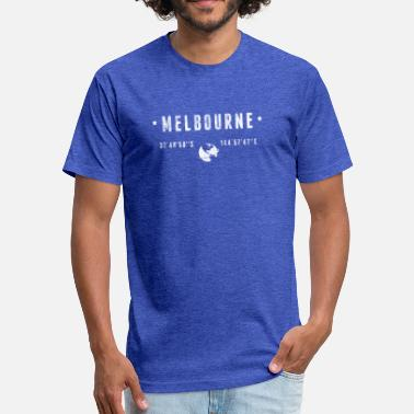 Melbourne Melbourne - Fitted Cotton/Poly T-Shirt by Next Level