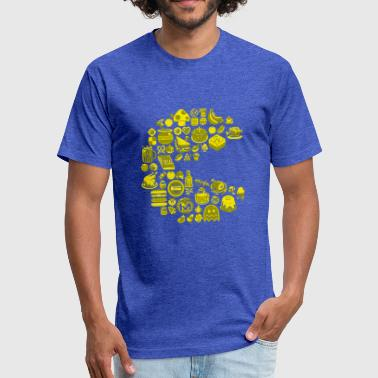 All You Can Eat All You Can Eat - Fitted Cotton/Poly T-Shirt by Next Level