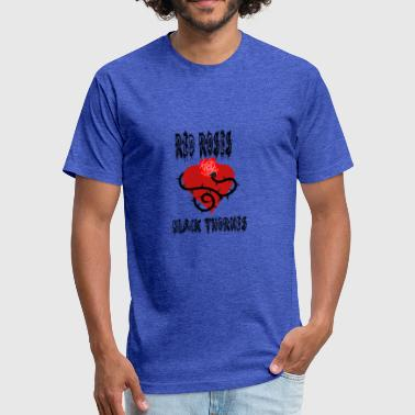 Red Rose With Thorns Your'e a Red Rose but a Black Thorn shirt - Fitted Cotton/Poly T-Shirt by Next Level