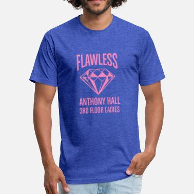 Music Hall Flawless Anthony Hall - Fitted Cotton/Poly T-Shirt by Next Level