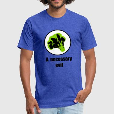 broccoli - Fitted Cotton/Poly T-Shirt by Next Level